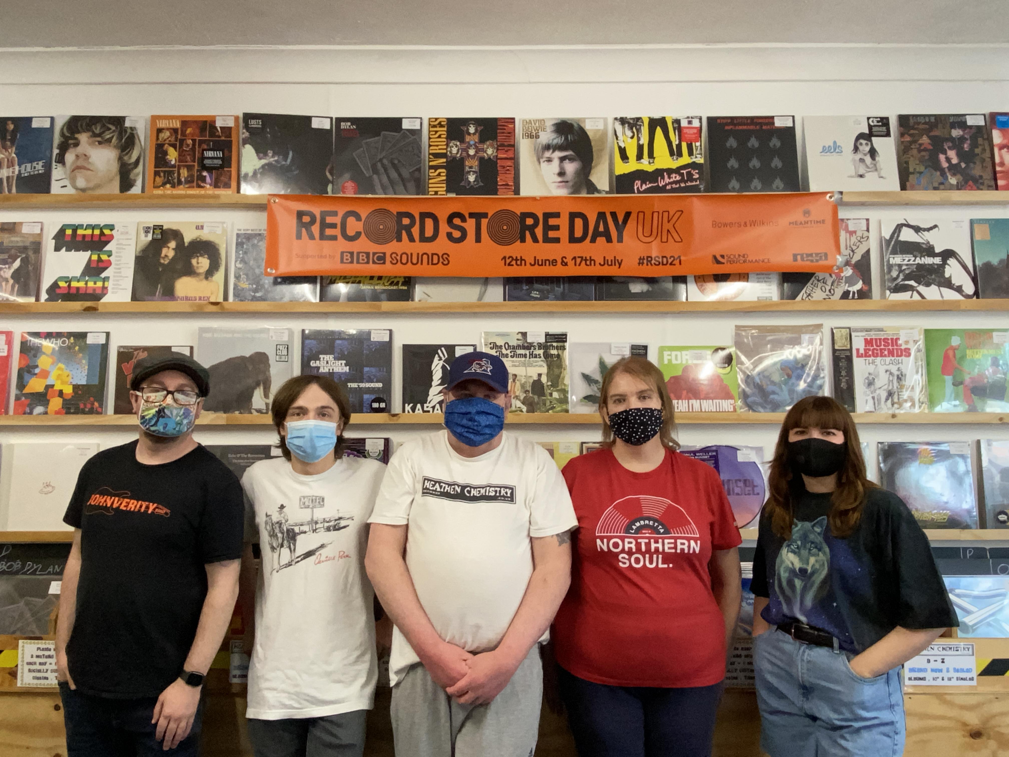 The Heathen Chemistry Records team